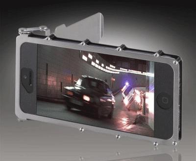 coque iphone inox case